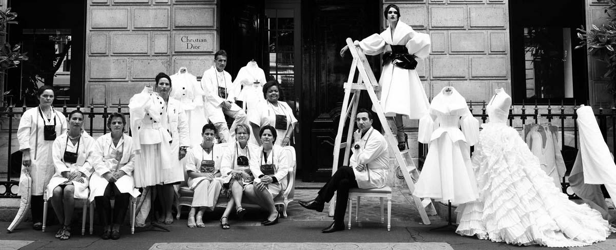Pierwszy butik Diora przy 30 Avenue Montaigne w Paryżu