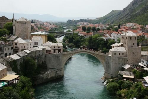 Ślady tureckiej kultury w przestrzeni Europy Środkowej – Stary Most w Mostarze  (Hercegowina) wzniósł w XVI wieku mistrz Hajrudin / fot. Michał Jurecki