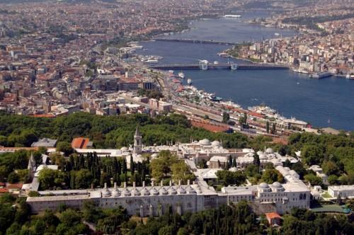 Pałac Topkapı, Stambuł, widok z lotu ptaka / Archiwum Ministerstwa Kultury i Turystyki Republiki Tureckiej