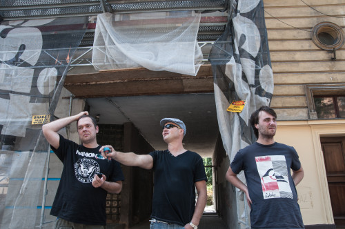 Jan Bińczycki, Jan Krasnowolski i Janczura Konrad (fot. Jakub Włodek)