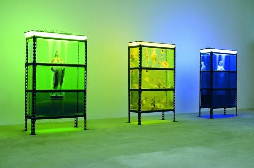 """13. Robert Rumas, """"Dedykacje I, II, III"""", 1992. Dzięki uprzejmości artysty i Fundacji Galerii Foksal"""