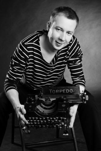 Maszyna do pisania Torpedo narzędzie pracy scenarzysty